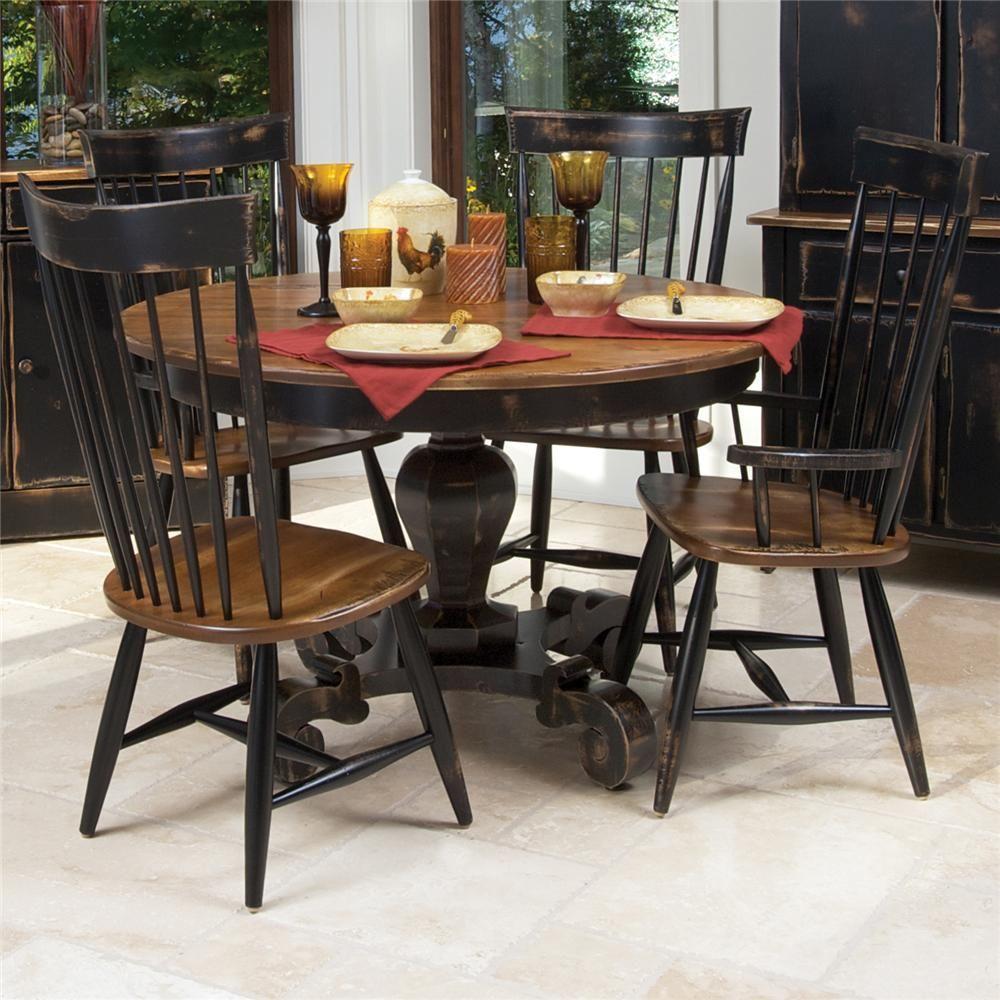 champlain  custom dining customizable table and chair set