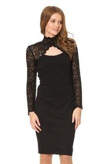 Stilvolles Kleid mit Spitze