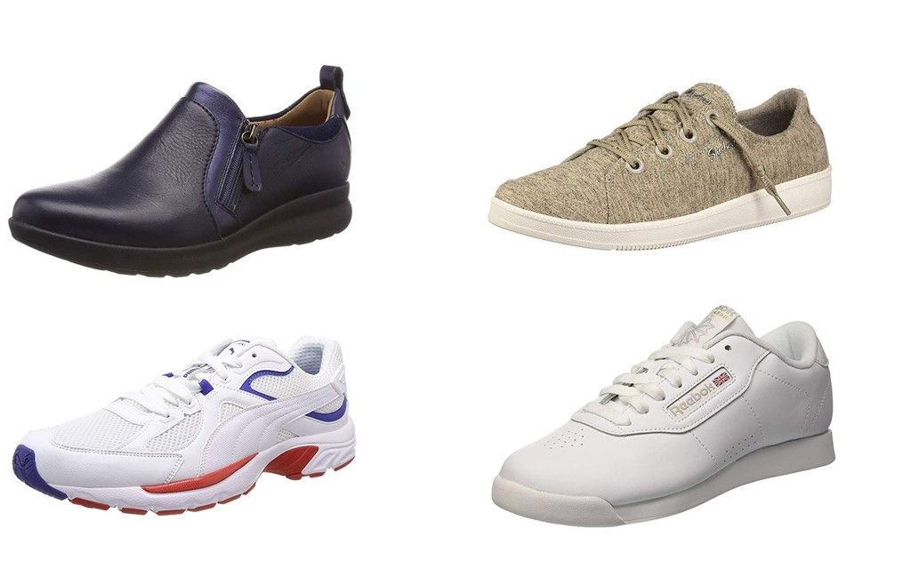 zapatos skechers mujer piel sueltos