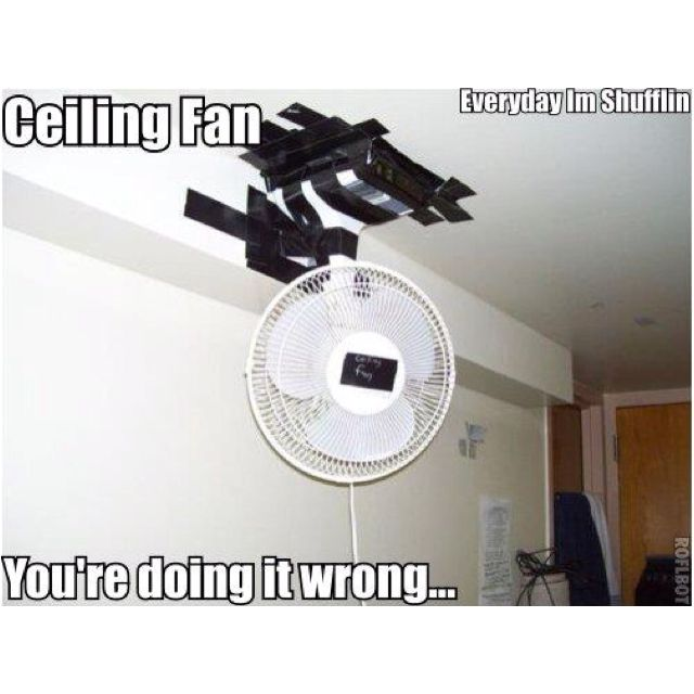 You're doing it wrong!
