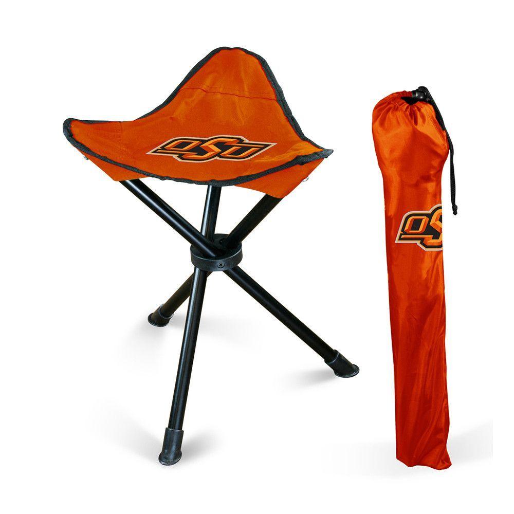 Oklahoma State Cowboys NCAA Collapsable Camping Stool