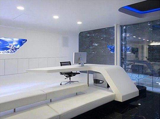 Futuristic Home Office. Futuristic Home Office. Interior Design Office  Pinterest Qtsi.co