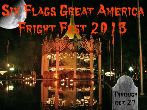 Ways To Get Discount Fright Fest Tickets At Sixflags Greatamerica Great America Water Park Six Flags