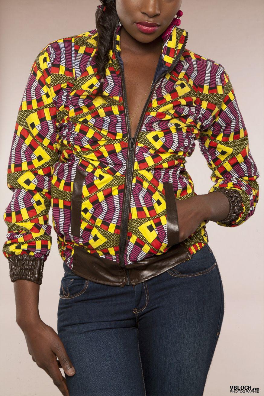 Femme africaine com