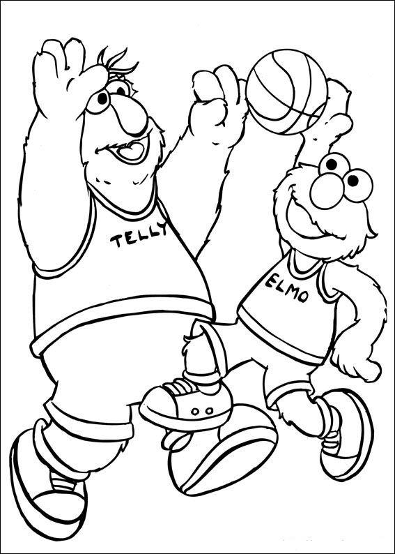 barrio sesamo 38 dibujos faciles para dibujar para niños