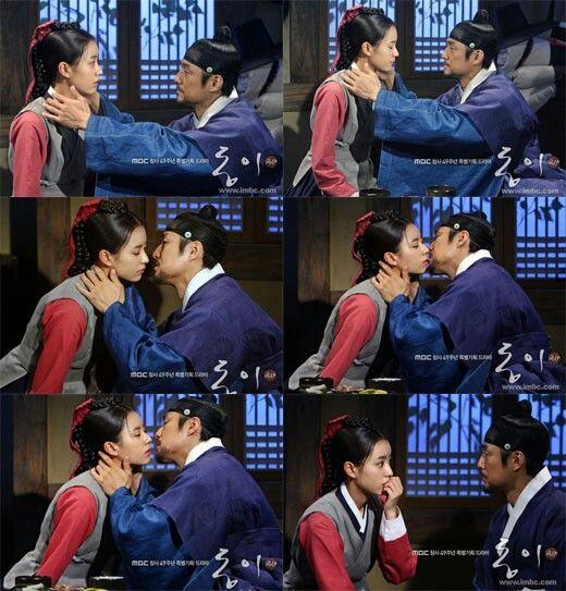 Dong Yi Kiss Raja Korean Drama Kissing Dong Yi Korean Drama Drama
