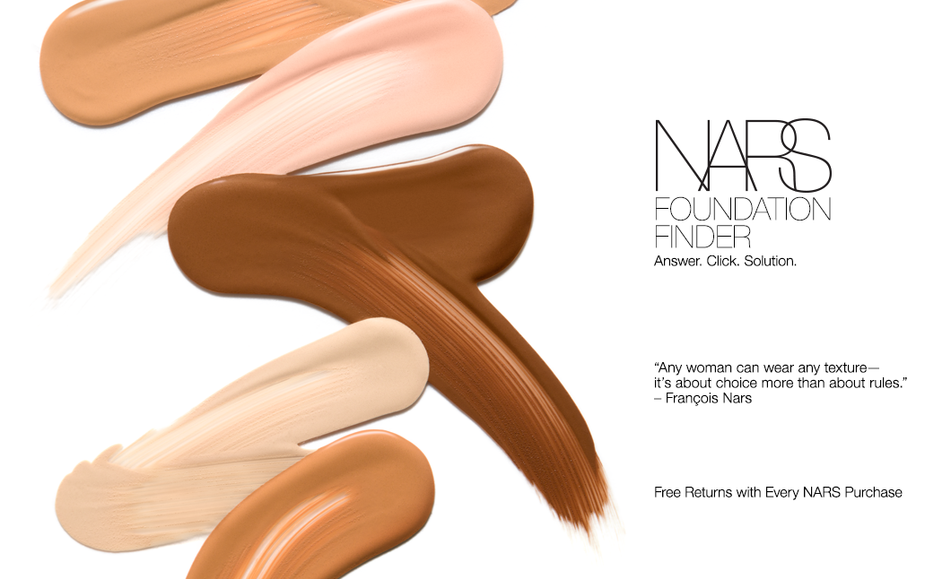 NARS Foundation Finder Answer. Click. Solution. Nars