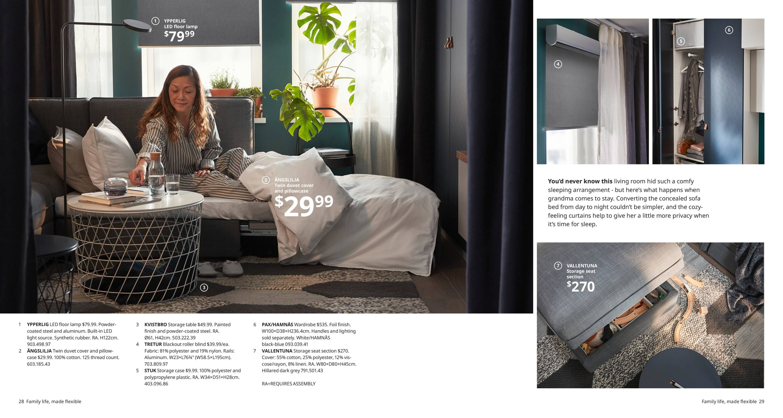 Home 2 Family Life Made Flexible Catalogue 2020 In 2020 Ikea Catalog Ikea Ikea Usa