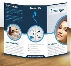 Tri Fold Brochure Design Woodcut Style Brochures Pinterest