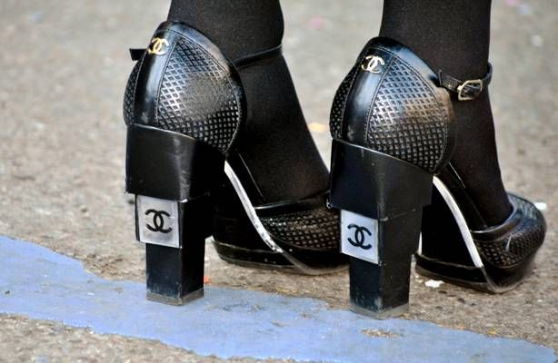 #streetstyle #chanel #highheels #heels #shoes #black #inspiration