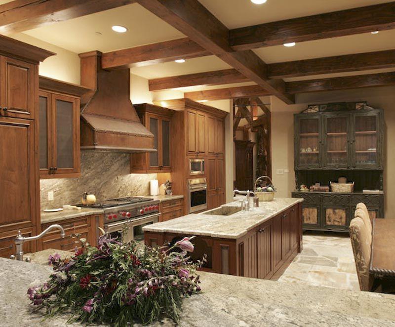 Cabinets Furnishings Customer Photo Cht01218 Rustic Kitchen Design Rustic Kitchen Kitchen Design Decor