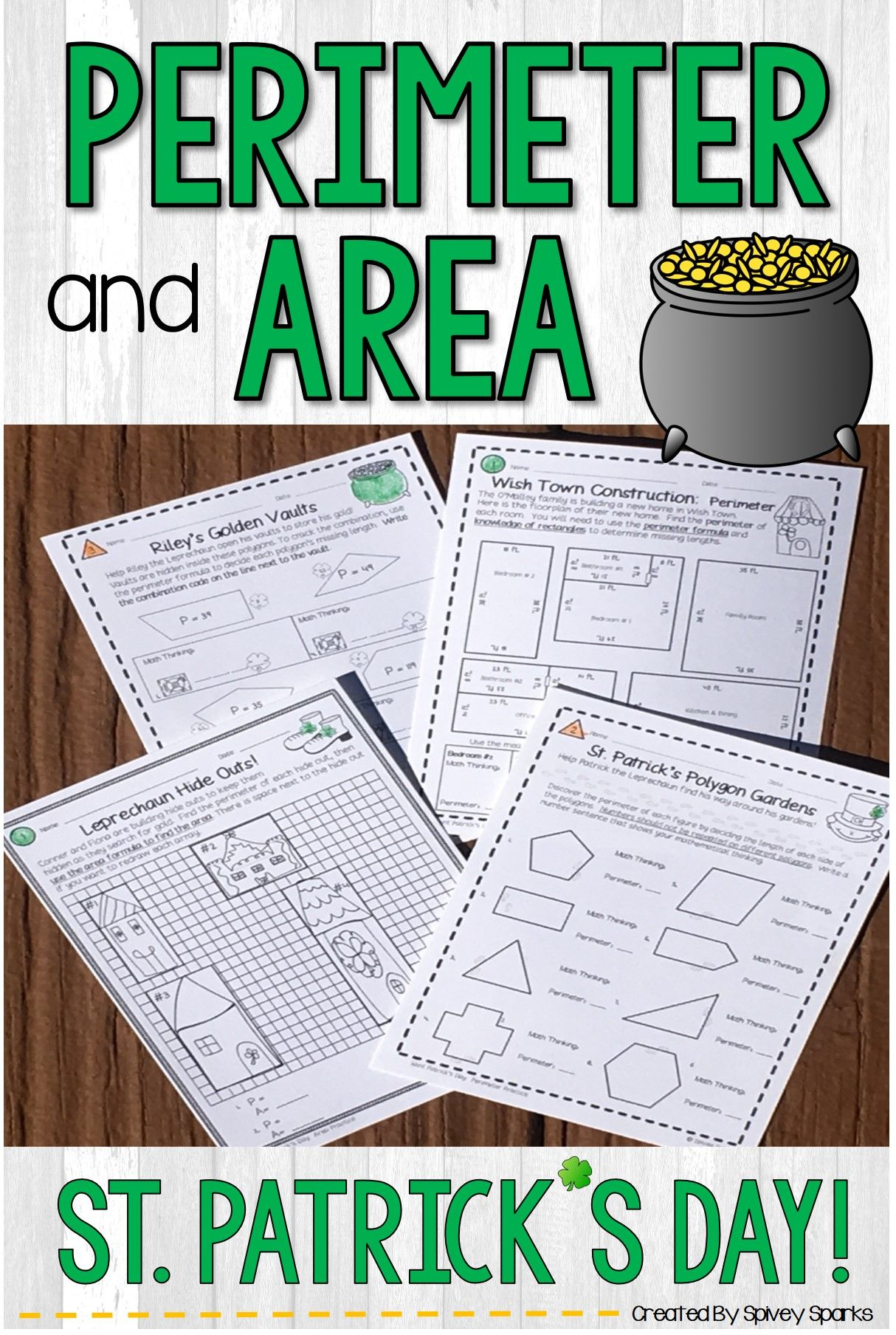 Area And Perimeter Worksheets In
