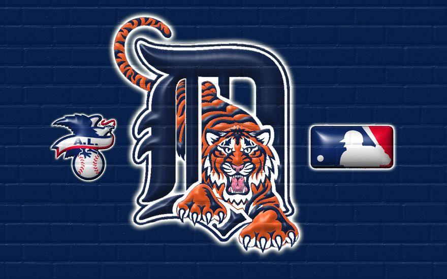 Detroit Tigers Logo Wallpaper Detroit Tigers Detroit Tigers Tickets Detroit