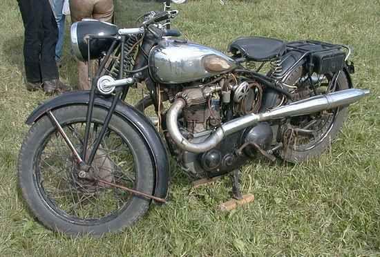 Twn Triumph Stm 500 496cc 20hp Mag Lizenz Ohv 1932 1937