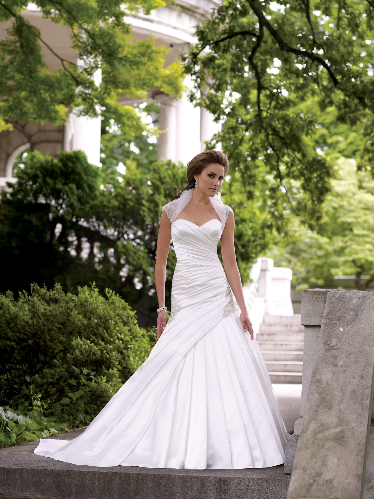 Looking For A Wedding Dress With Bolero Jacket Your Winter