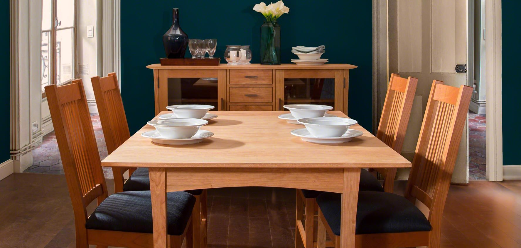 9 Wood Mission Dining Chair In Dining Room Design Ideas Wood