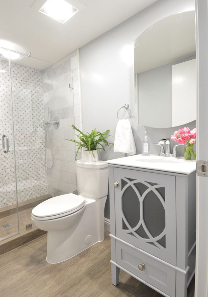 Cool Small Master Bathroom Remodel Ideas (9) | Home | Small Basement