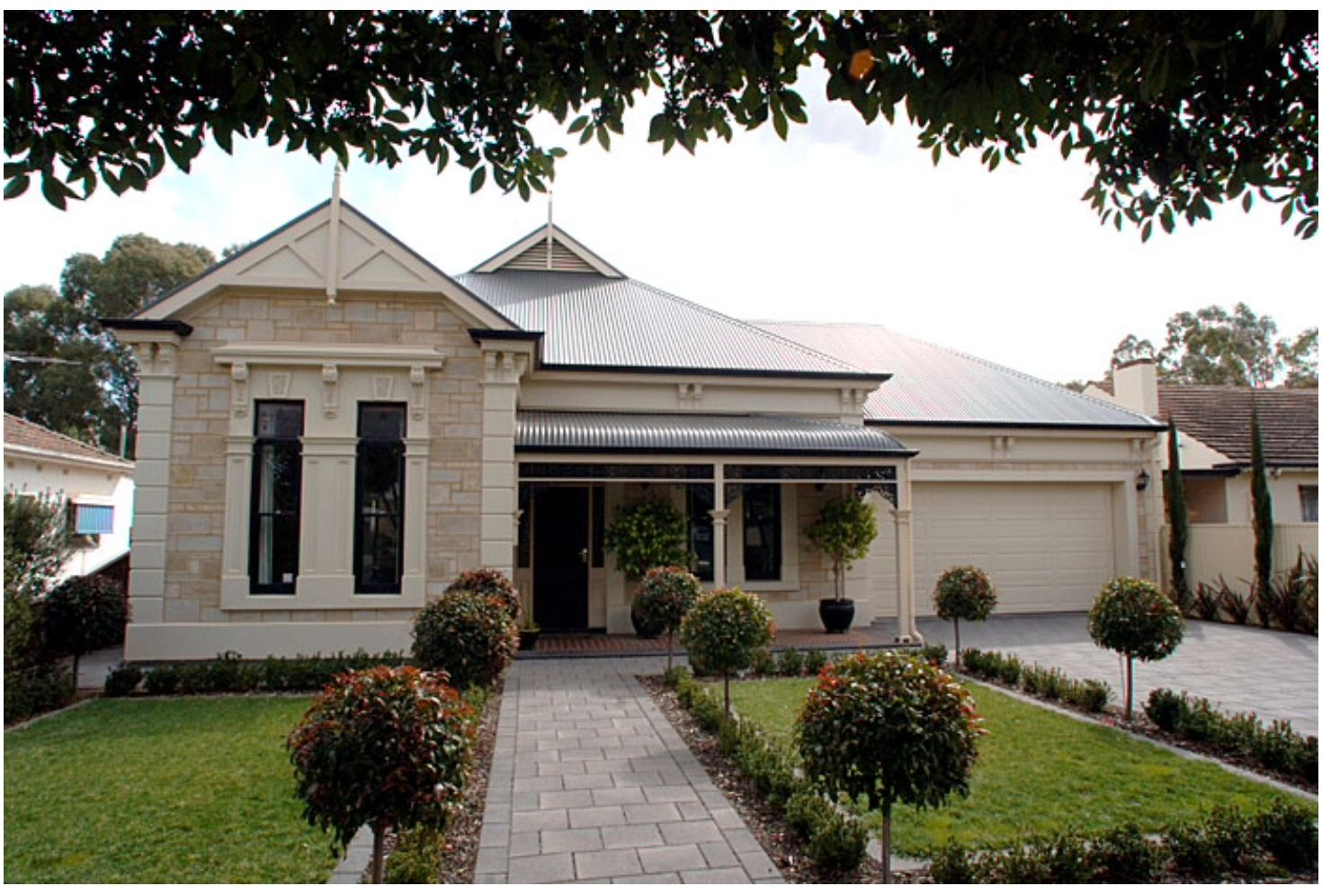 Heritage Style How To Incorporate A Garage Facade House House Exterior Australian Homes
