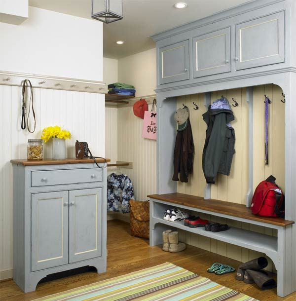 Seattle Kitchen And Mudroom Remodel: French Country Design Combines The Gentle, Rustic Feel Of