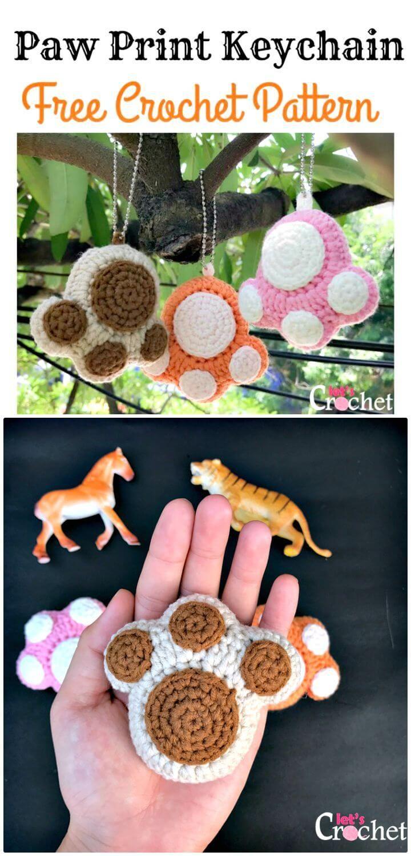 Crochet Keychain – 15 Free Crochet Patterns #minioncrochetpatterns
