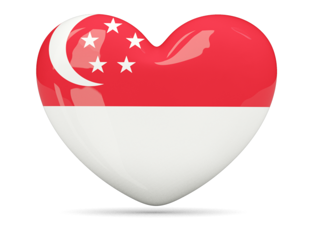 Heart Icon Download Flag Icon Of Singapore At Png Format Heart Icons Flag Icon Singapore Flag