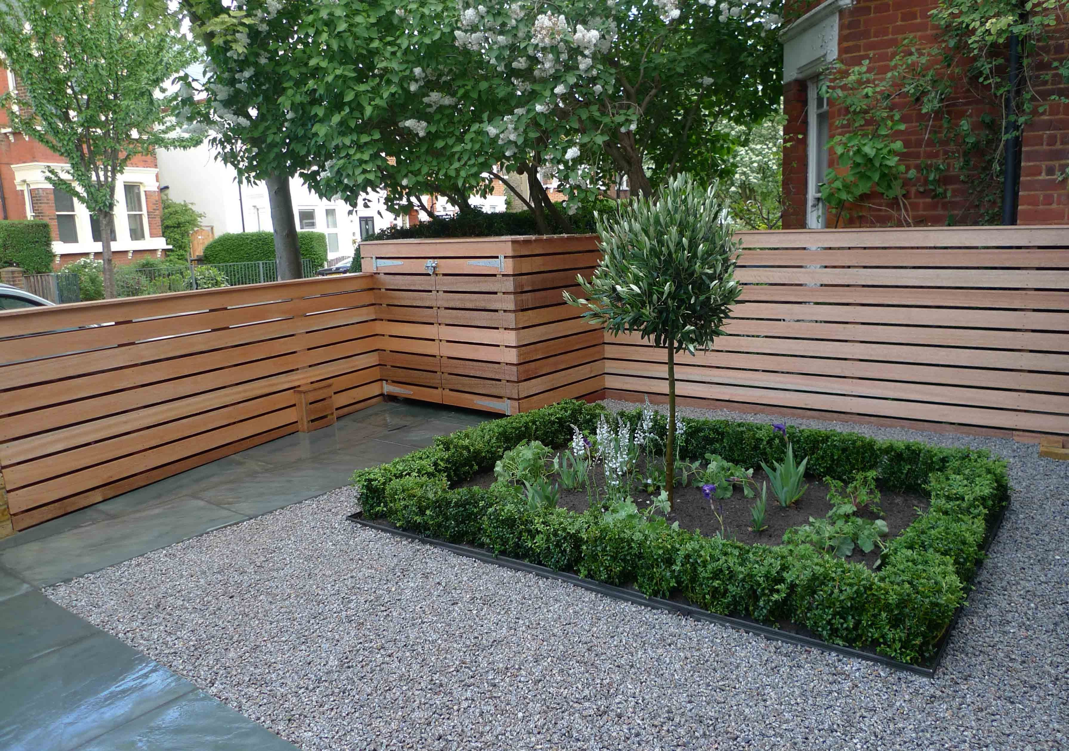 Garden Landscape Design  Small garden fence, Front garden design