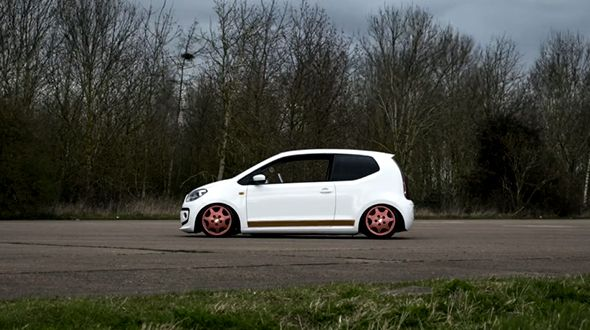 Stanced Vw Up Stanced Cars Cars Fast Cars