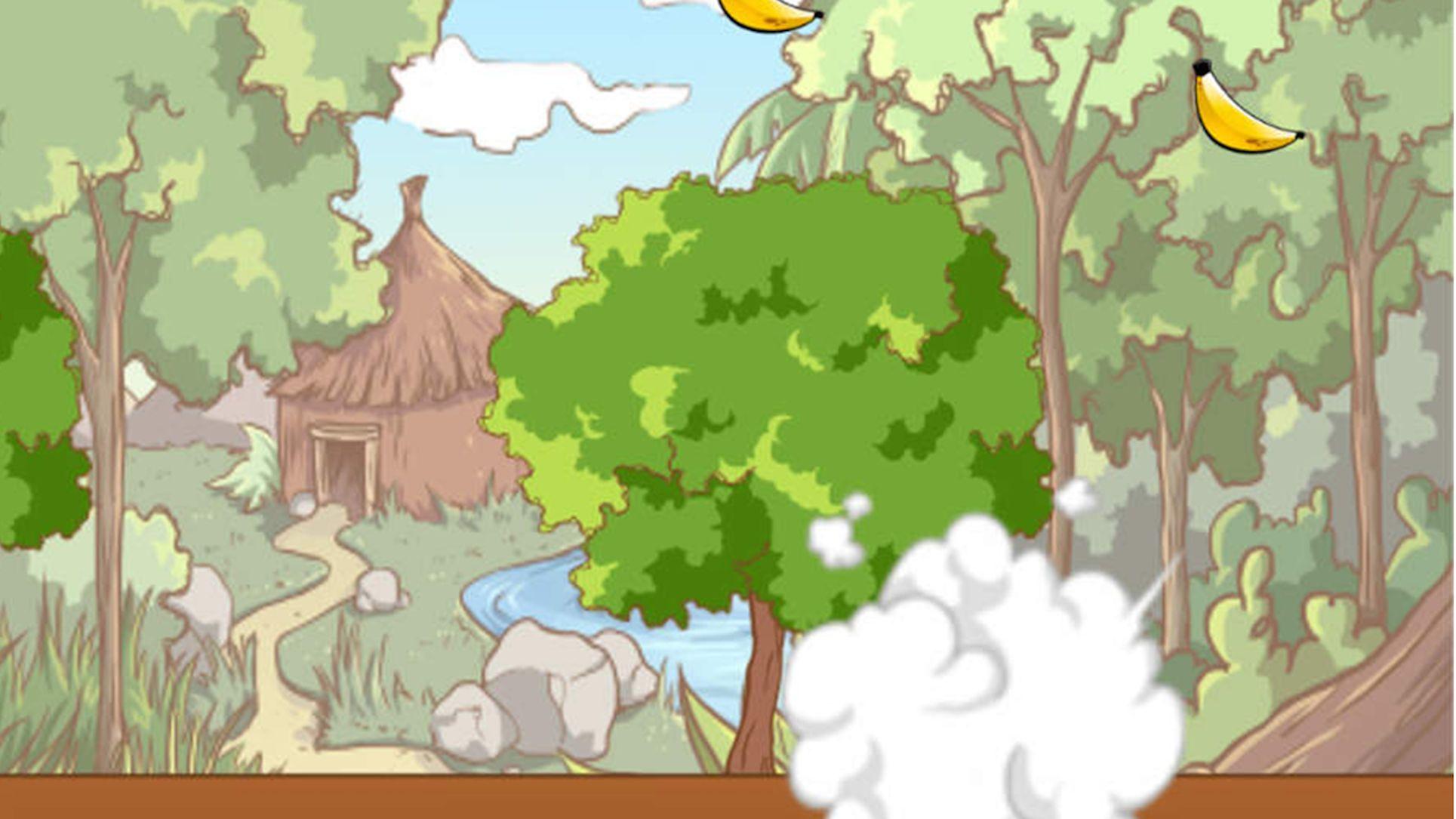 Spider Monkey Slide and Jump! GamesFreeArcade