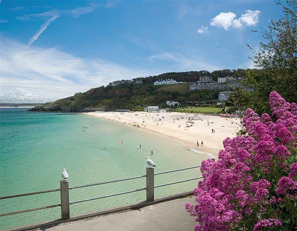 Porthminster Beach, St Ives, Cornwall Looks like a Spanish cove