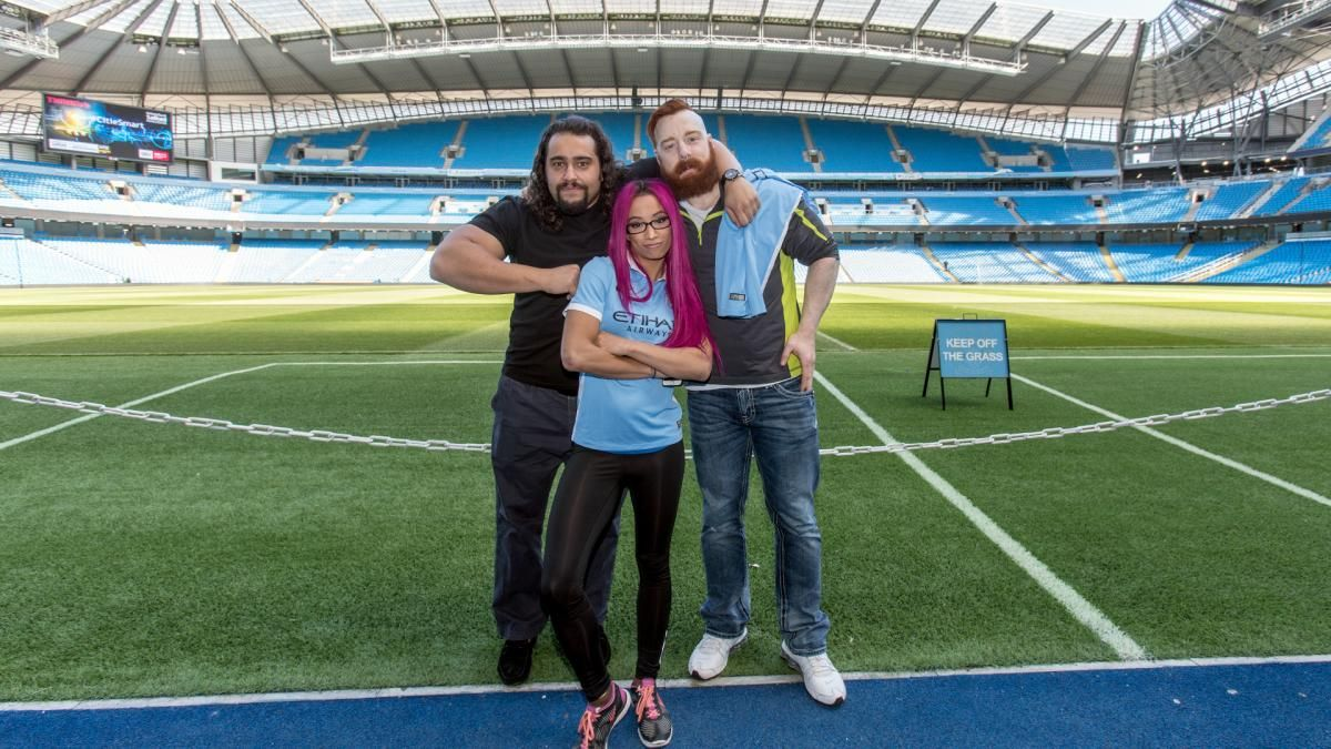 League Of Nations Members Work On Their Goals In Etihad Stadium Photos Manchester City Football Club Visit Manchester Sheamus