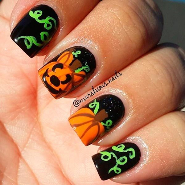 DIY Halloween Nail Designs To Copy Right Now - DIY Halloween Nail Designs To Copy Right Now Nail Designs