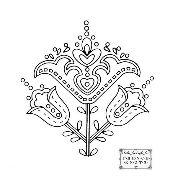 tulip_motif | graphic art