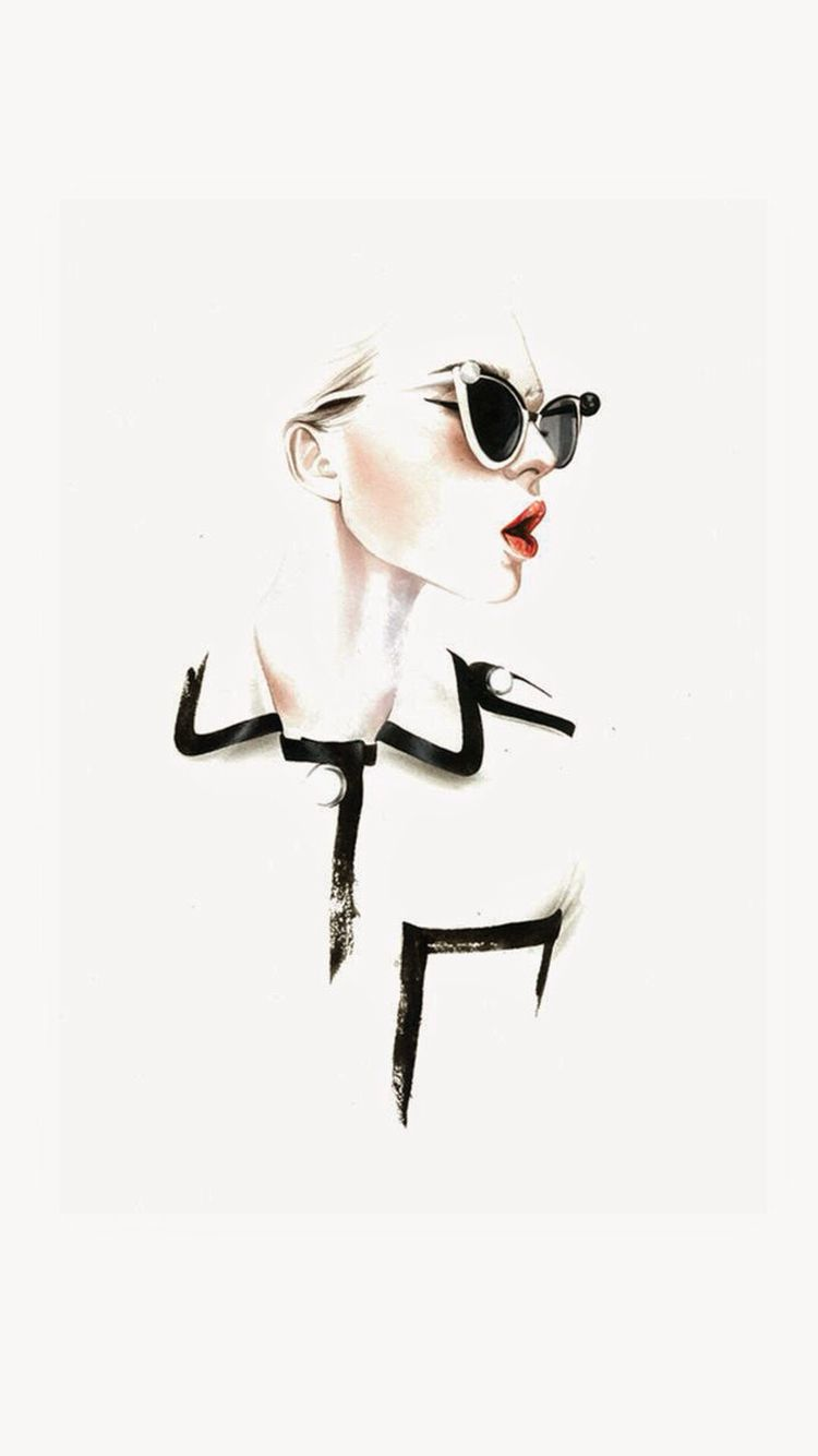Fashion Illustrations by Antonio Soares | Wallpaper iPhone ...