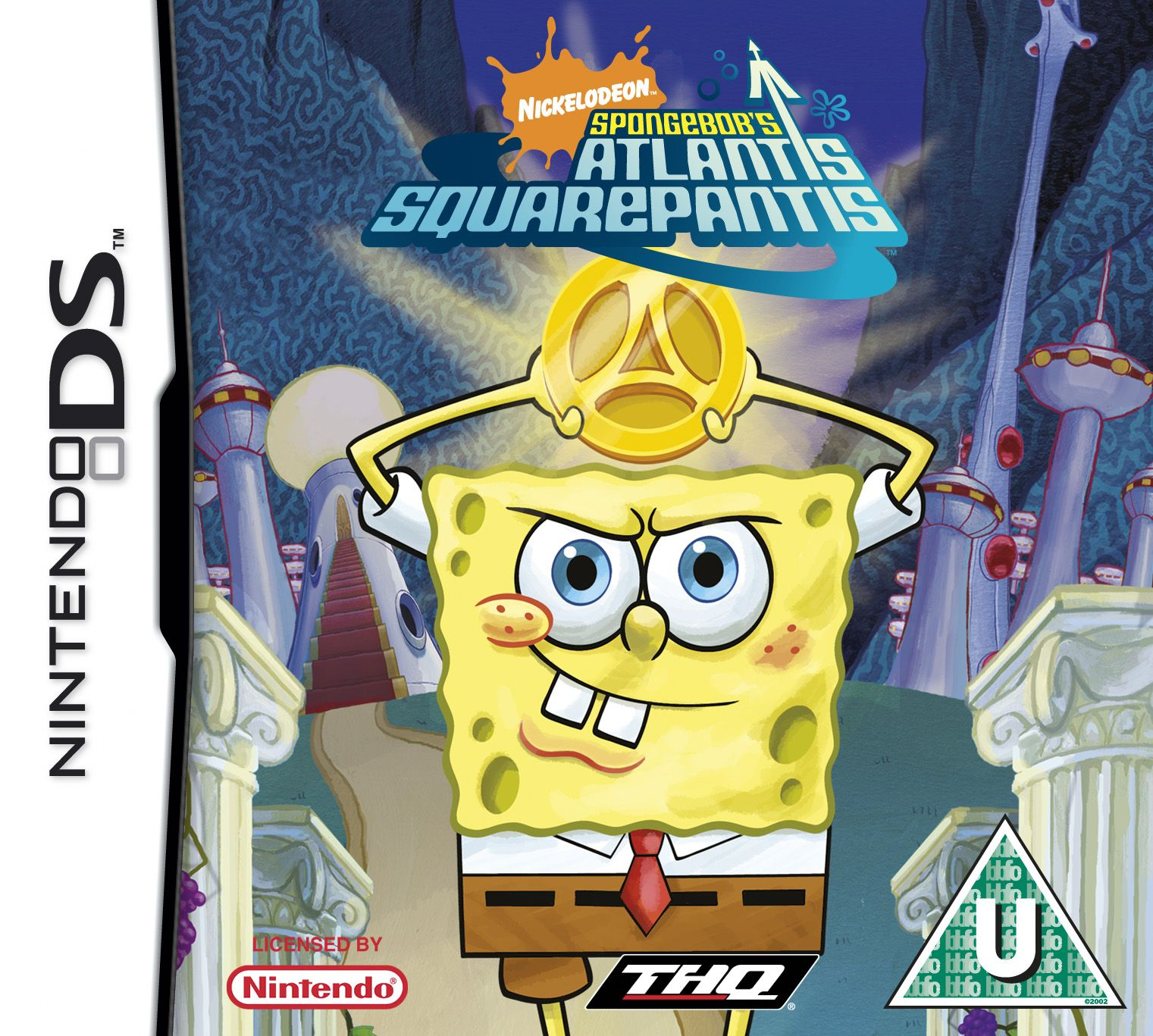 Nintendo DS Game Ds games, Spongebob games, Spongebob
