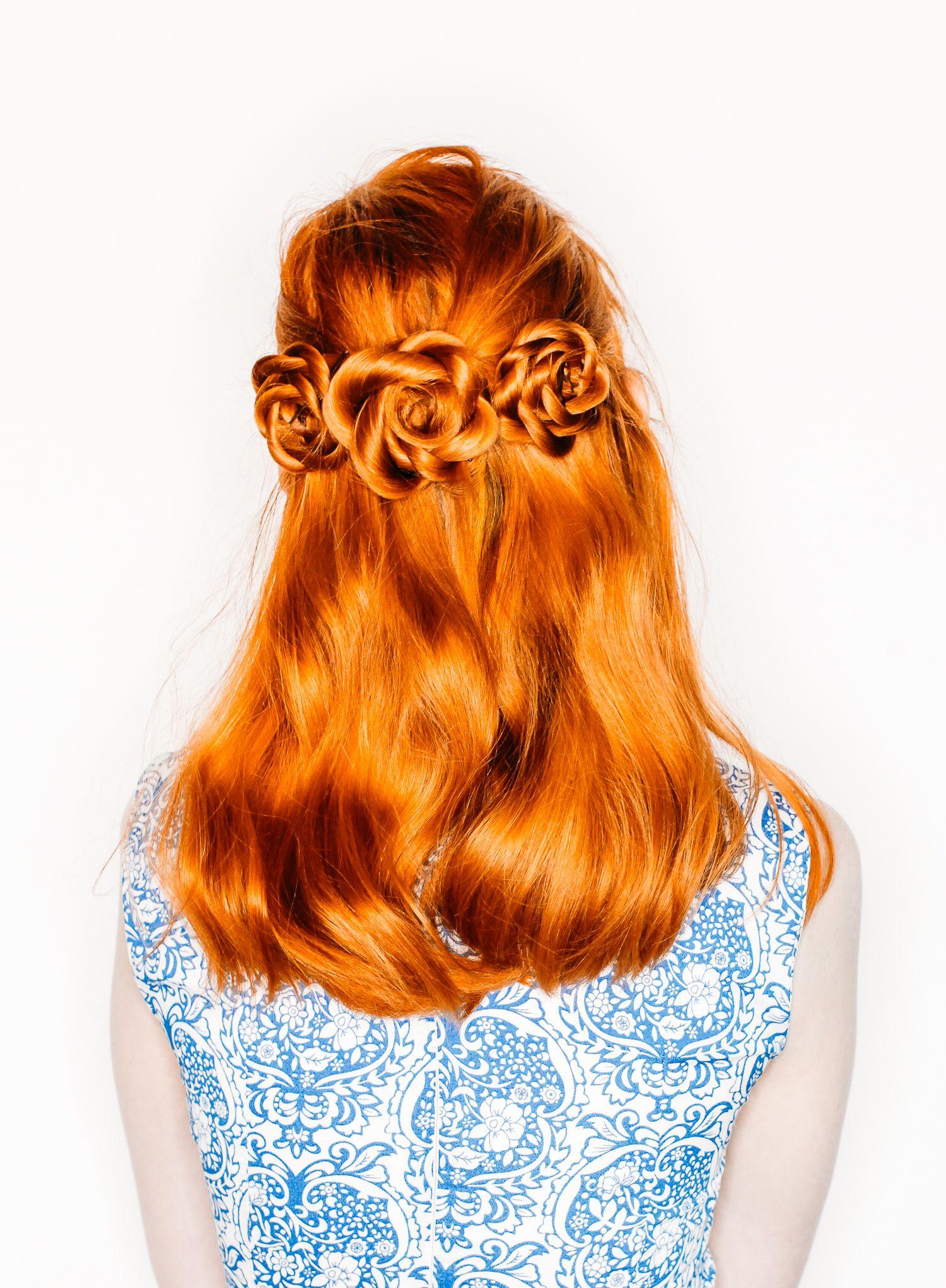 The Easiest Flower Braids Ever A Beautiful Mess Diy Hairstyles Hair Styles Long Hair Styles
