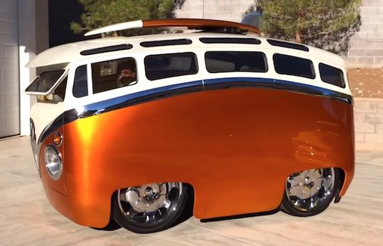 Gutted on 24 inch rims and called the Surf Seeker, the vehicle is the work of customs god Ron Berry. Description from phatzine.com. I…
