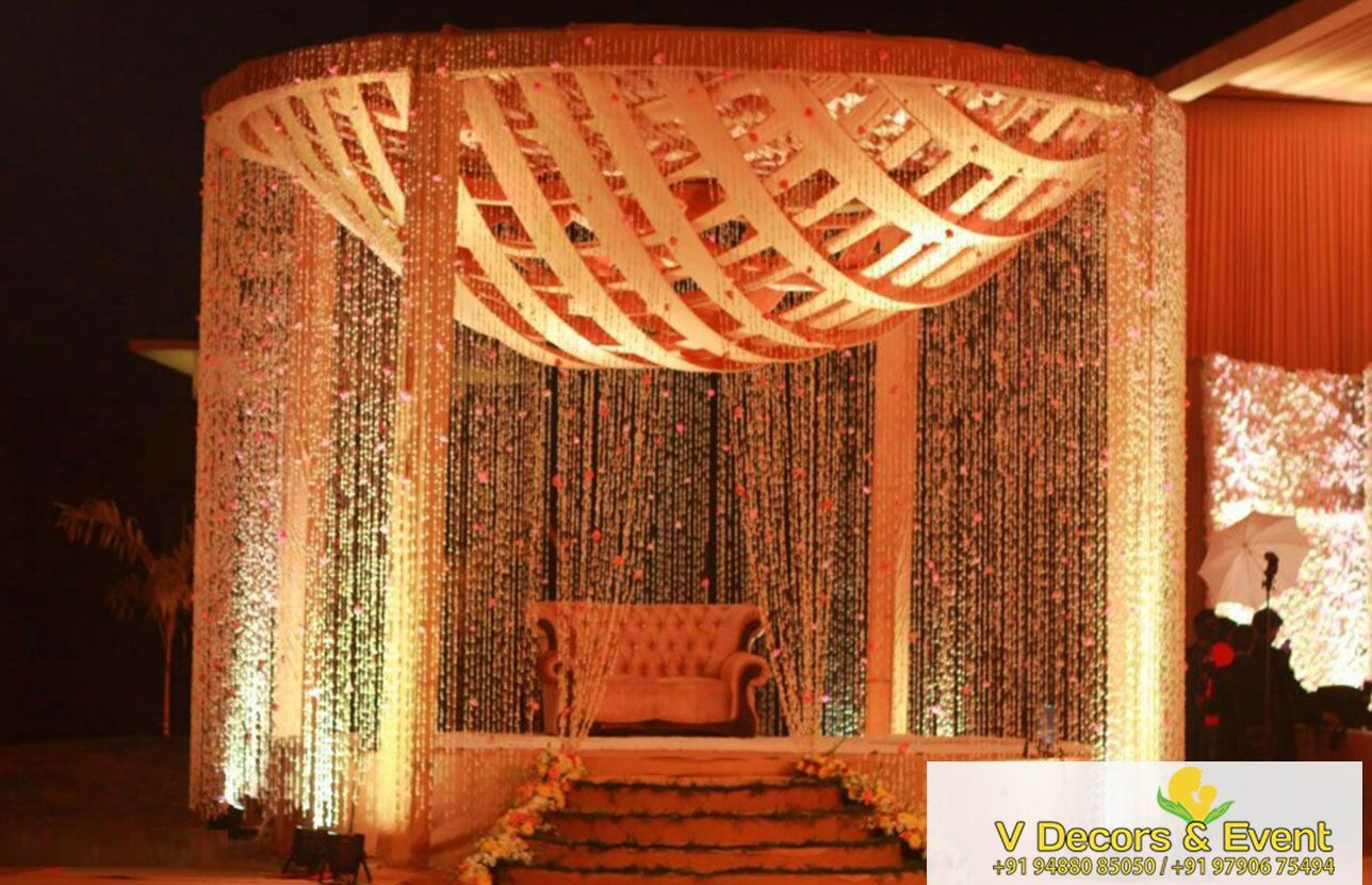 Wedding stage decoration delhi  Reception Stage Decoration  Plan Your Next Event  Pinterest