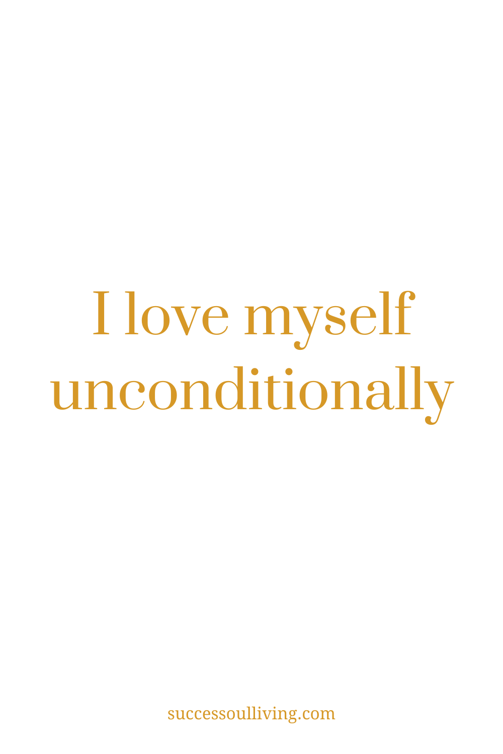 A Daily Affirmation For Manifesting Love | Success-soul® Living