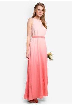 Wanita > Pakaian > Dress > Long Dress > Bridesmaid Ombre Maxi Dress > ZALORA