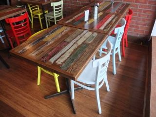 Commercial Dining Room Tables Impressive Cafe Furniture Melbourne  Restaurant Furniture  Made To Order Review