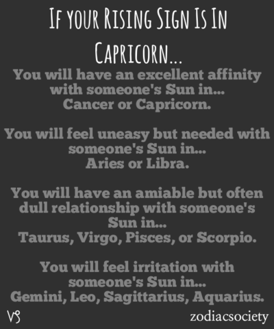 Capricorn Rising & Relationships | Astrology | Scorpio ascendant