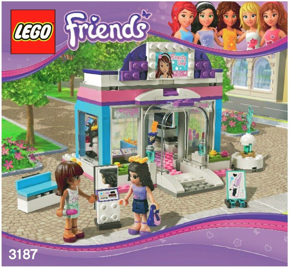 Friends Butterfly Beauty Shop Lego 3187 Legos Pinterest