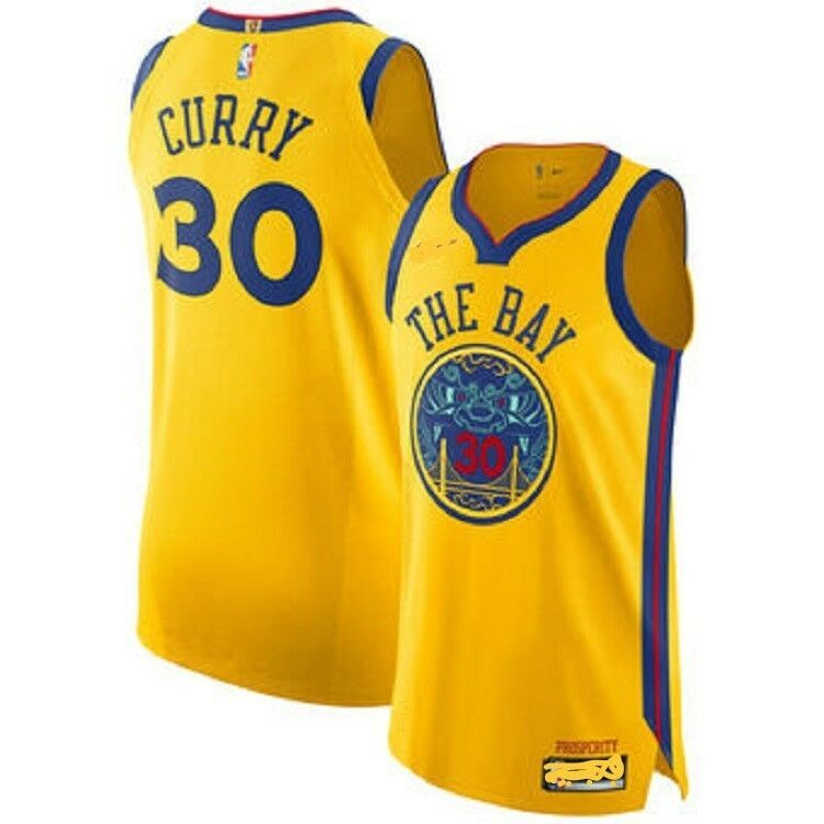 super popular a314f 0d064 Stephen Curry #30 Warriors The Bay Jersey All Sizes All ...