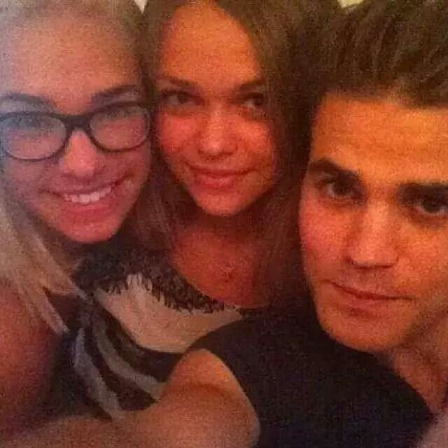 Paul and his sisters!!