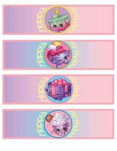 Shopkins Party Printables Silverware Wraps