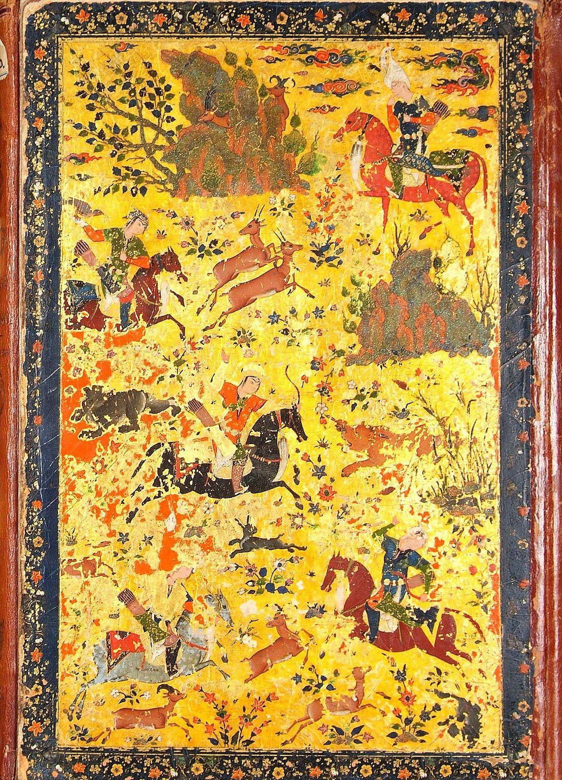 Hunting Shirin | by persian.painting