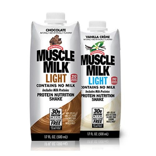 Muscle Milk Especially The Light Kind Is A Great Way To Get More Protein On The Go Muscle Milk Light Muscle Milk Nutrition Shakes
