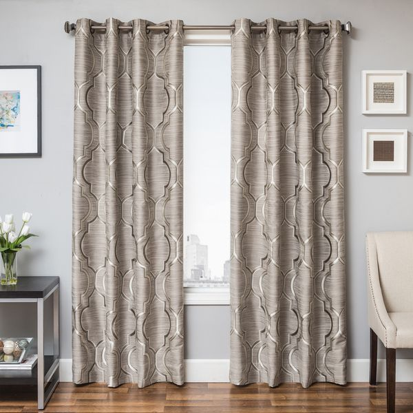 trenton grommet top curtain panel overstock shopping great deals on curtains 108