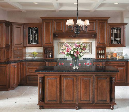Knotty Hickory Kitchen Cabinets: 100% Guaranteed Rustic Kitchen Design