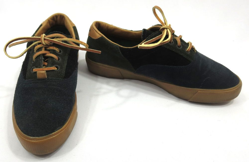 Cole Haan Sporting 5.5 Blue Green Leather Suede Shoes Womens Oxfords Sneakers #ColeHaan #FashionSneakers